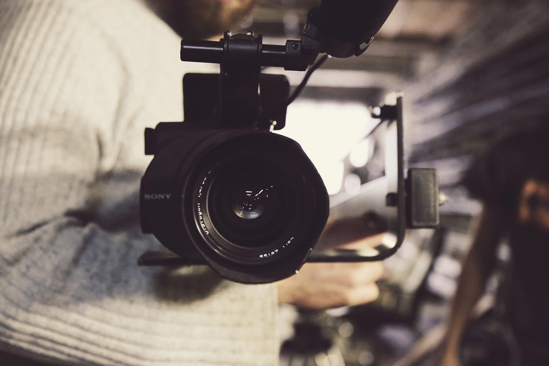 Caméra gros plan