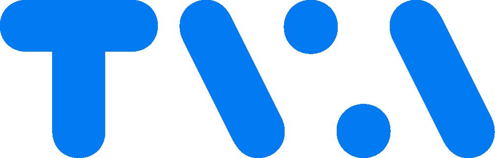 Logo TVA bleu RVB 2021